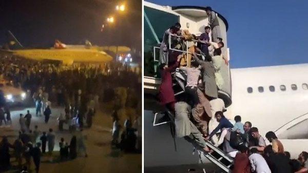 More than 5 people killed at Kabul airport
